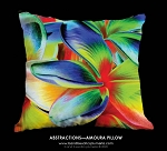ABSTRACTIONS - AMOURA TOSS PILLOW, 18